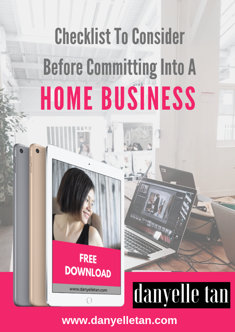 Free Download: Checklist To Consider Before Committing Into A Home Business