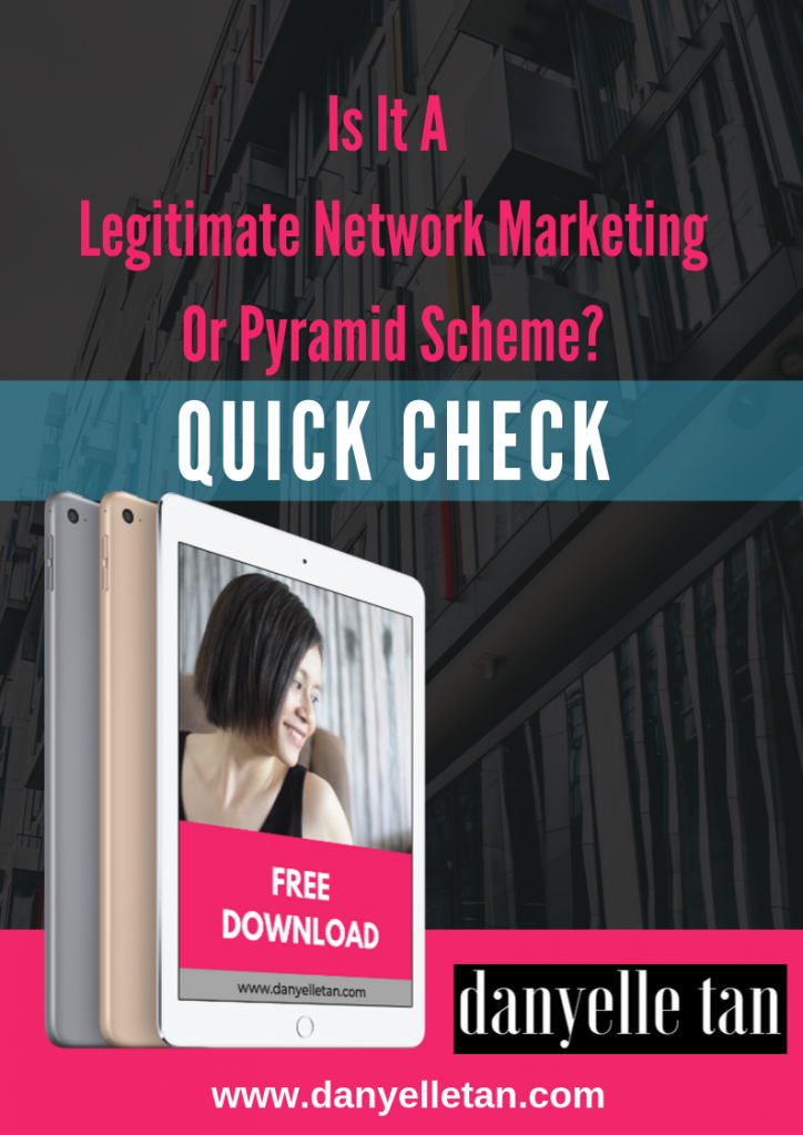 Free Download: Legitimate MLM vs Pyramid Scheme Quick Check