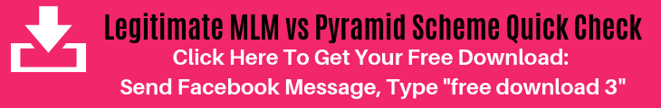 Free Download: Legitimate Network Marketing vs Pyramid Scheme Quick Check