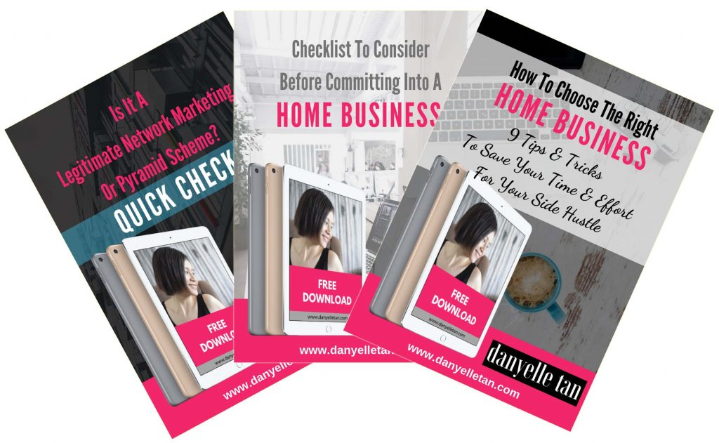 Danyelle Tan - Work From Home Business Tips - Free PDF